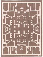 SAVED New York Maison Leleu Totem Throw