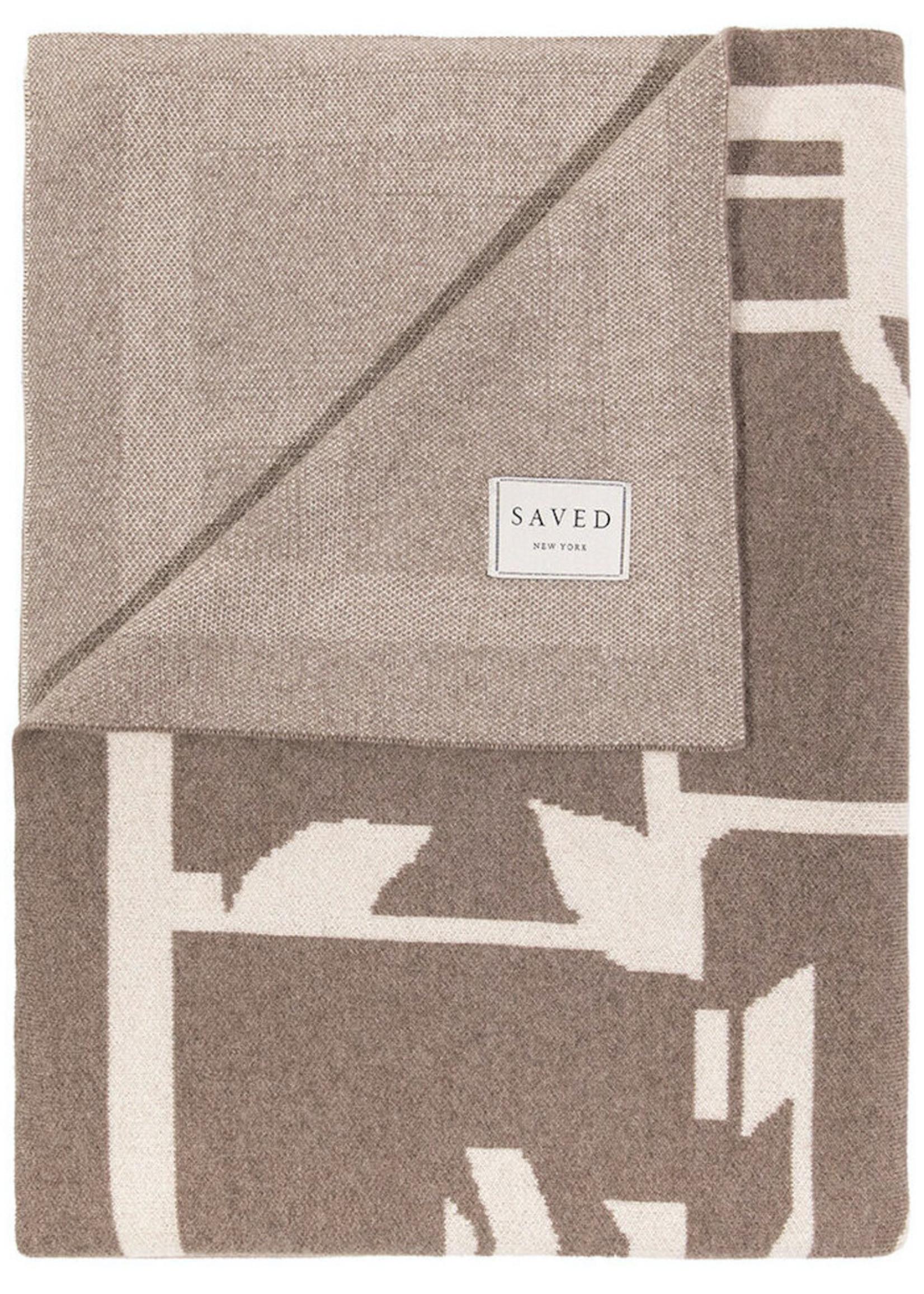 SAVED New York SAVED New York Cashmere Maison Leleu Totem Throw
