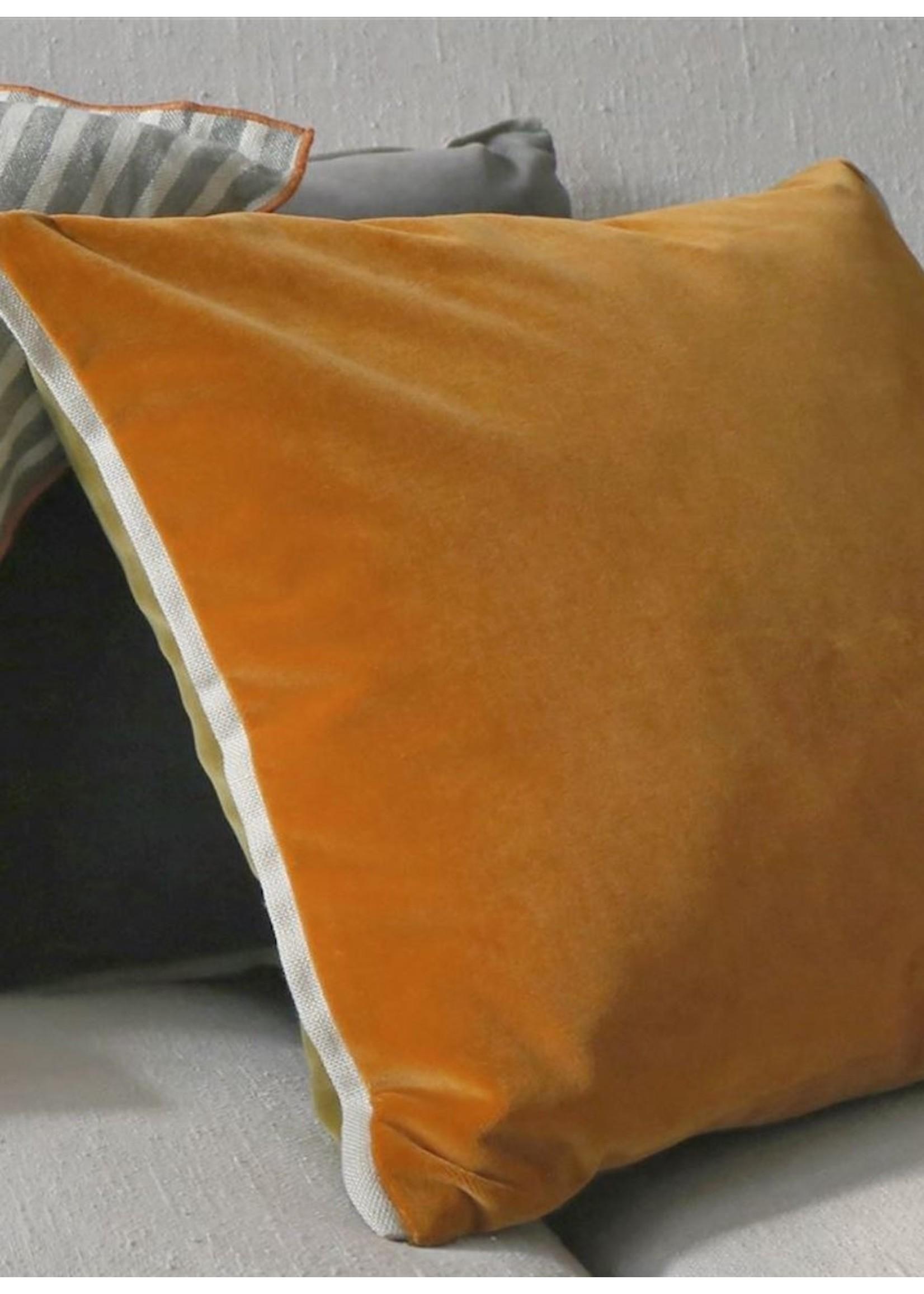 Designers Guild Varese Saffron & Olive Pillow
