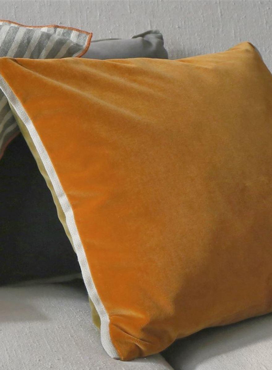 Varese Saffron & Olive Pillow-1
