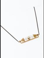 Larissa Loden Aero Clear Quartz Necklace