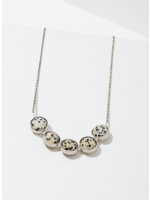 Larissa Loden Alignment Dalmatian Jasper Necklace