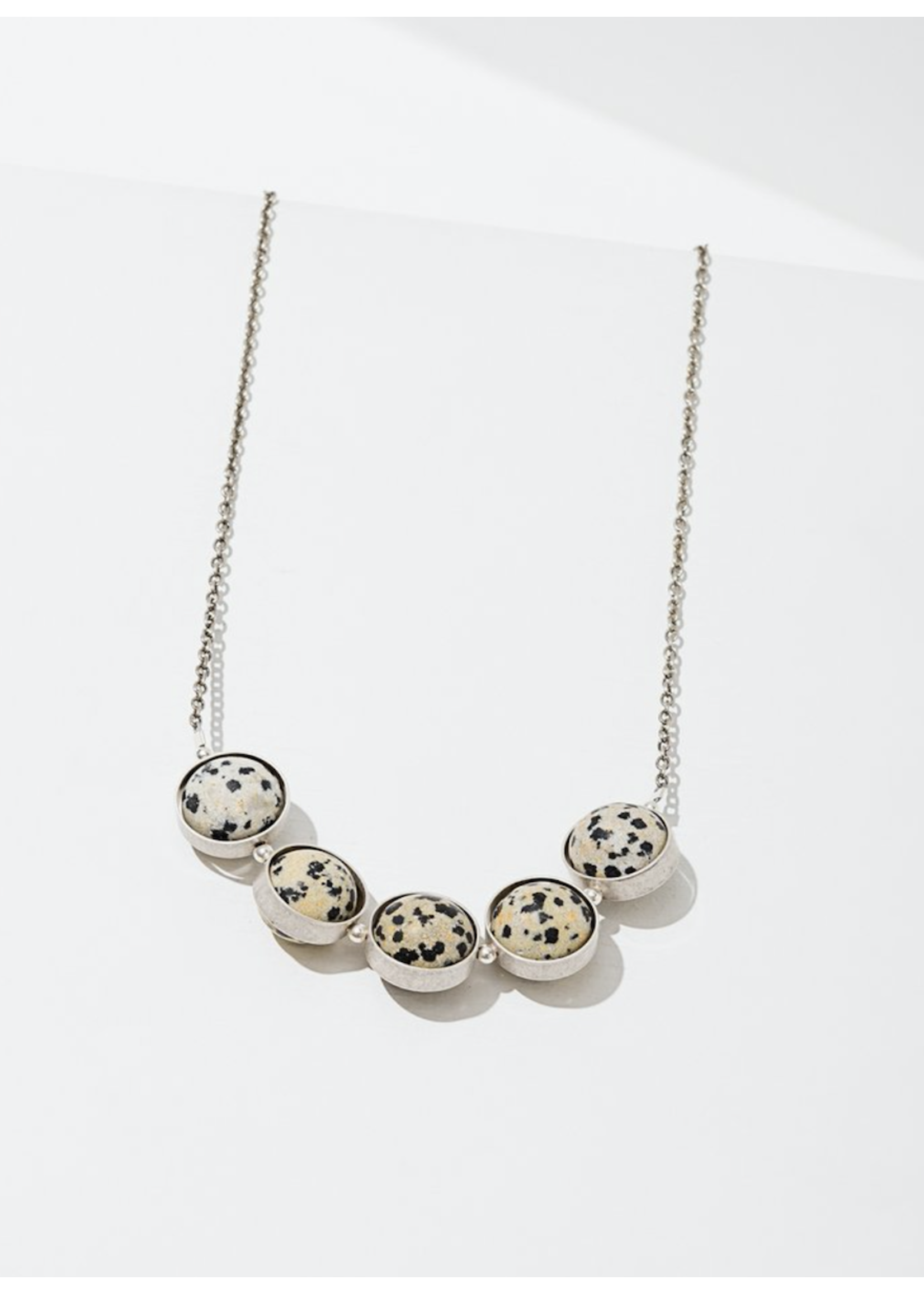 Larissa Loden Larissa Loden Alignment Dalmatian Jasper Necklace