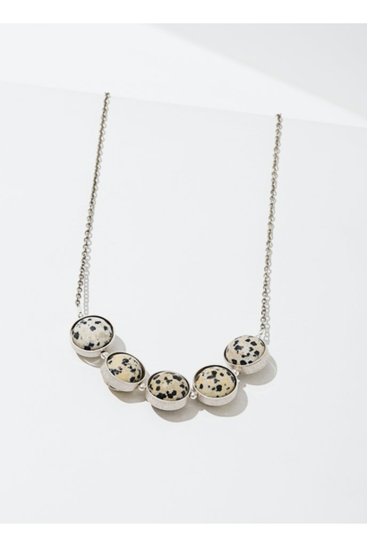 Alignment Dalmatian Jasper Necklace