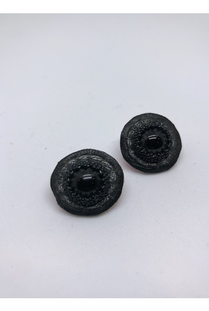 Small Stud Earrings (Black)