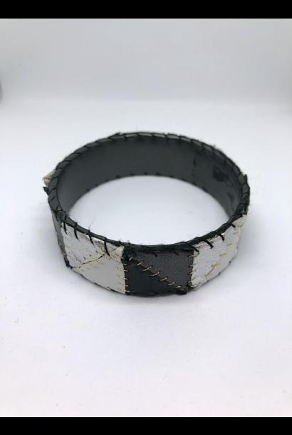 Patchwork Bangle Bracelet