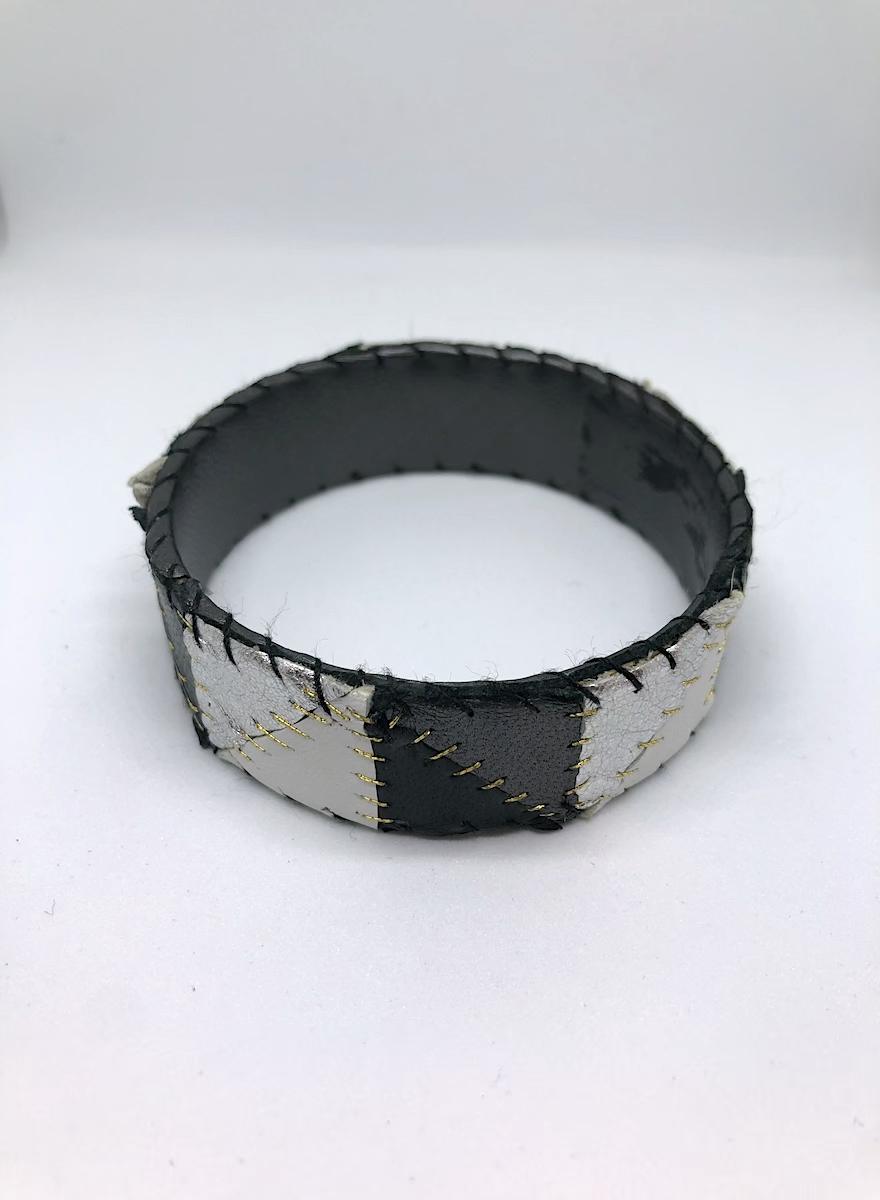Patchwork Bangle Bracelet-1