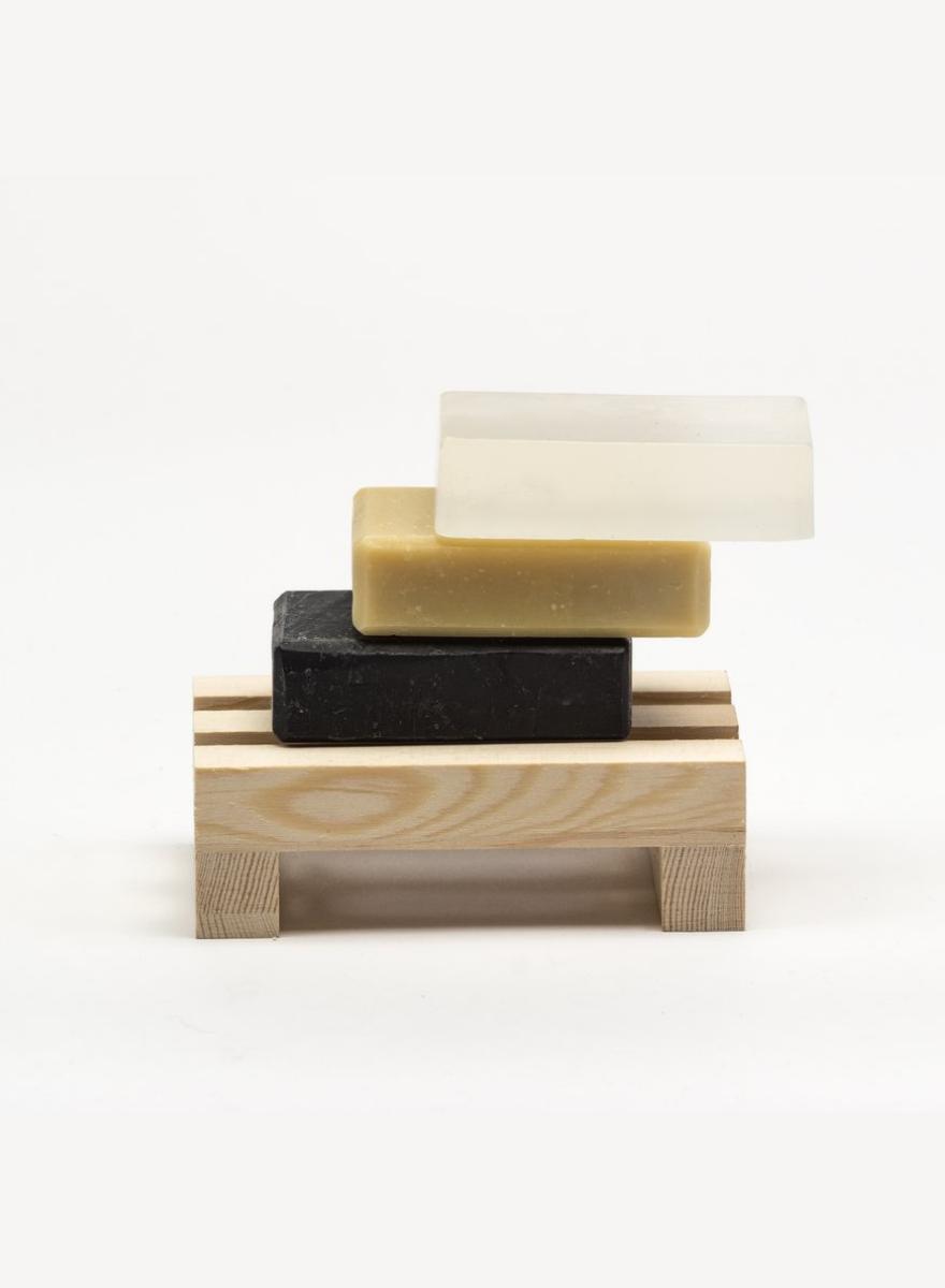 Pine Wood Soap Dish-1