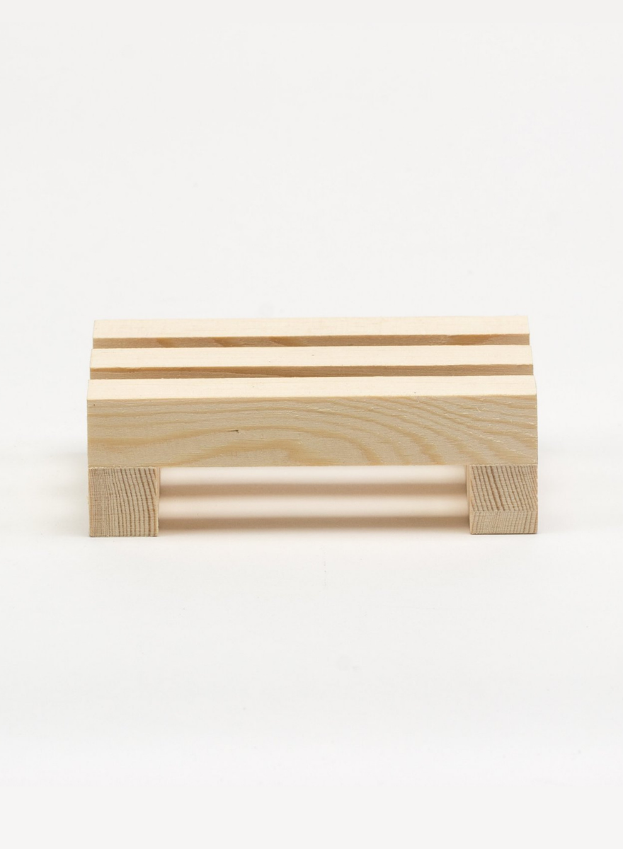 Pine Wood Soap Dish-2
