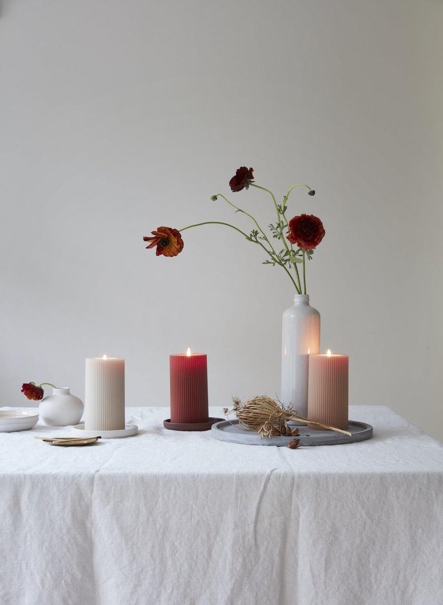 Fancy Pillar Candle-2