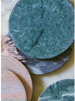 SIR/MADAM Green Marble Coasters