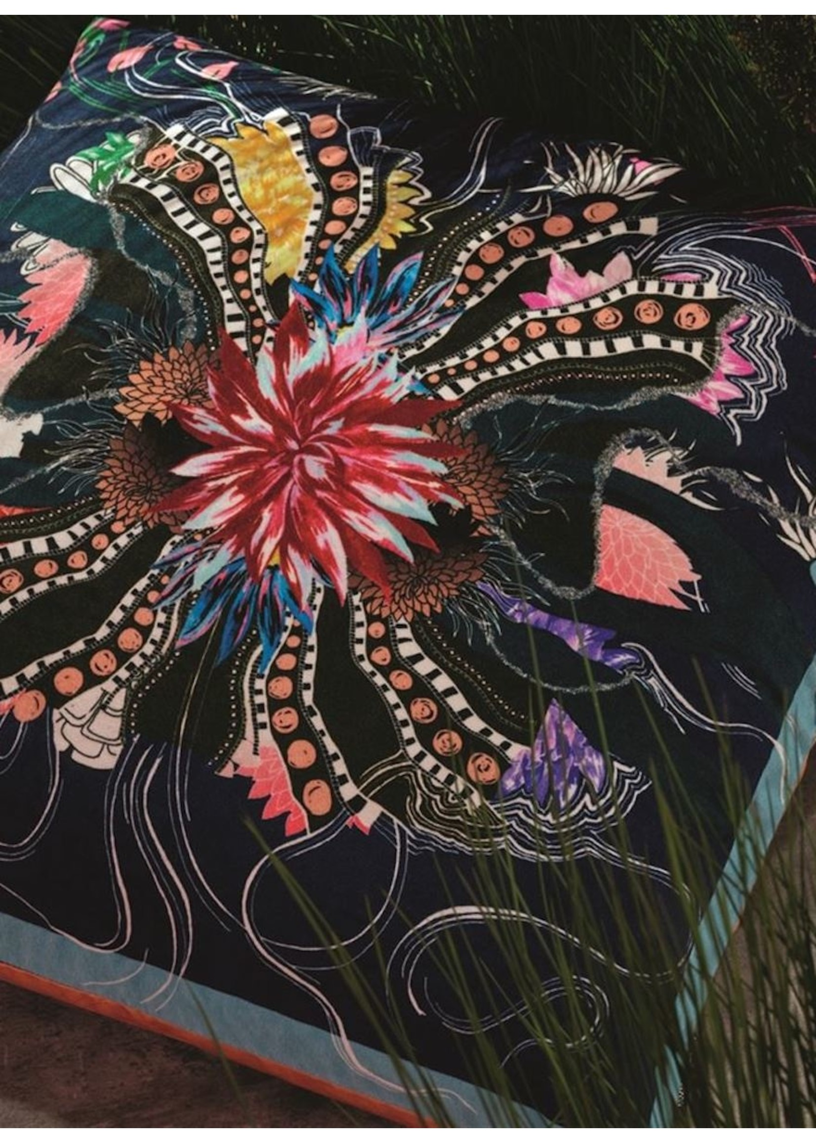 Designers Guild Ocean Blooms Ruisseau Pillow