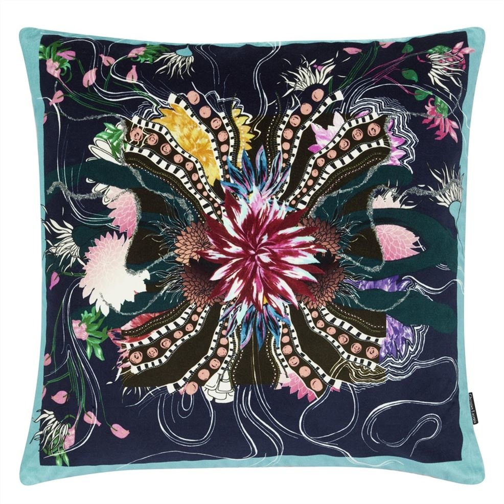 Ocean Blooms Ruisseau Pillow-3
