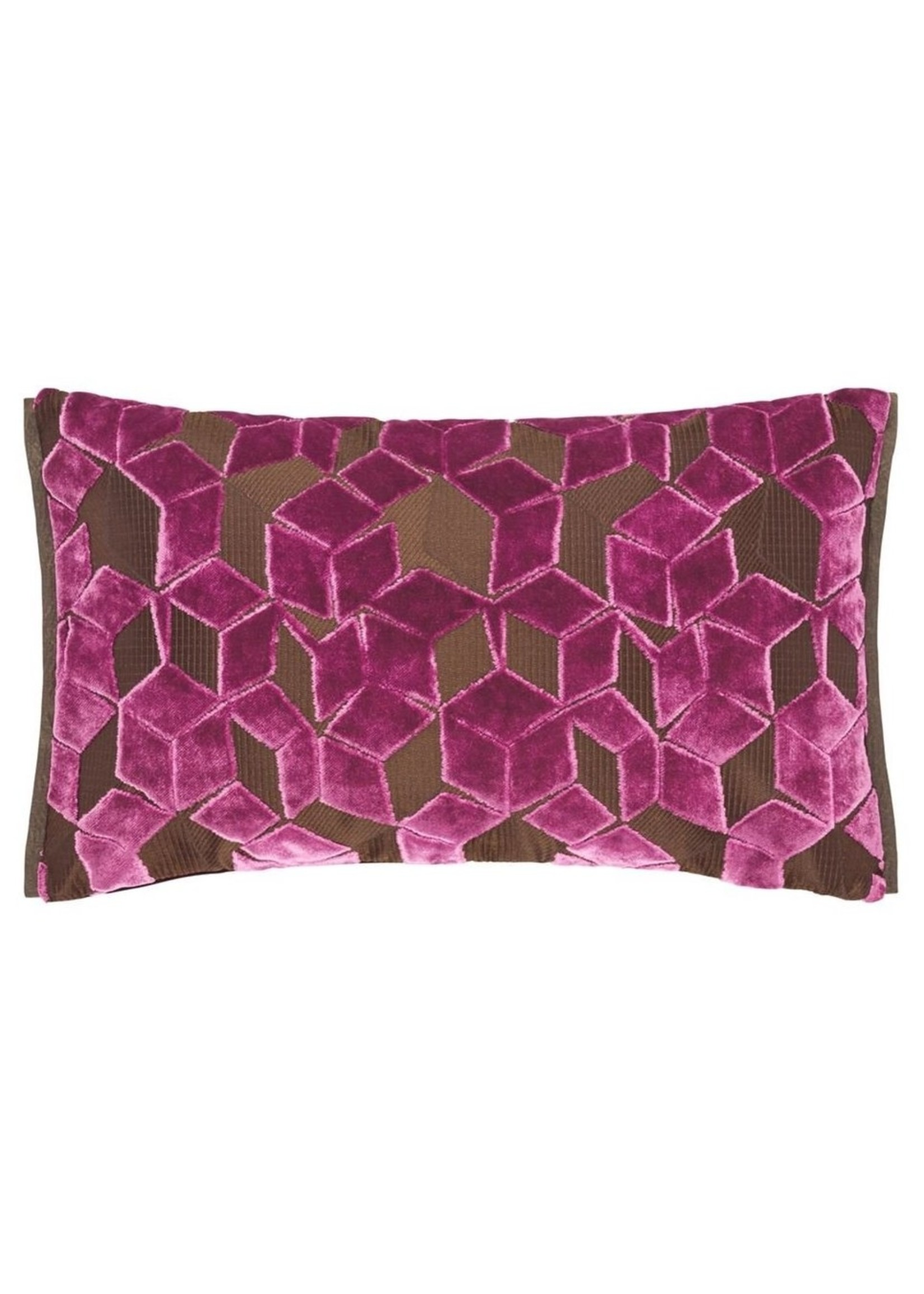 Designers Guild Fitzrovia Damson Pink Pillow