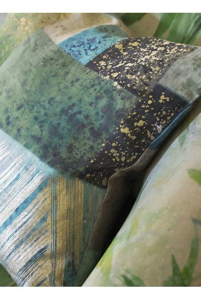 Parterre Geo Emerald Pillow