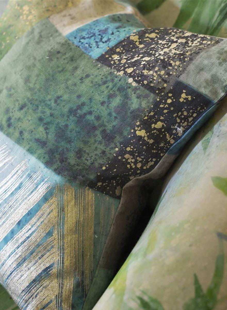 Parterre Geo Emerald Pillow-1