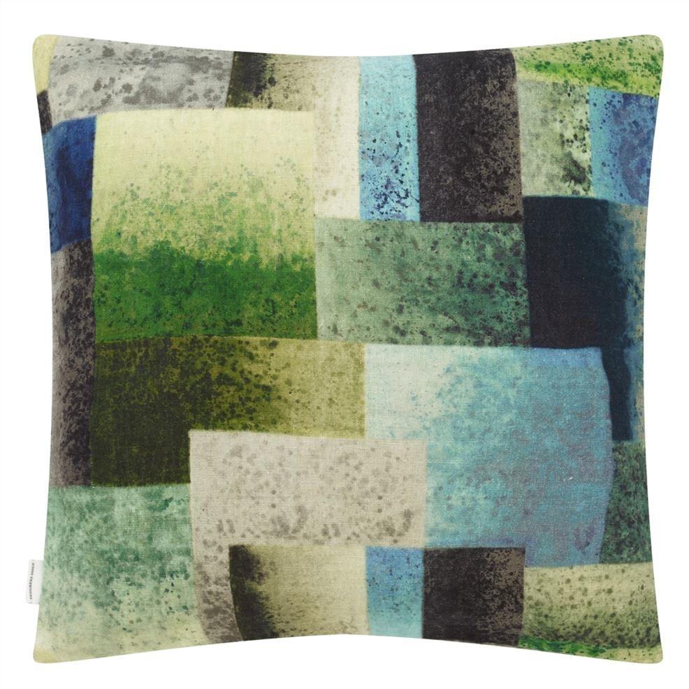 Parterre Geo Emerald Pillow-3