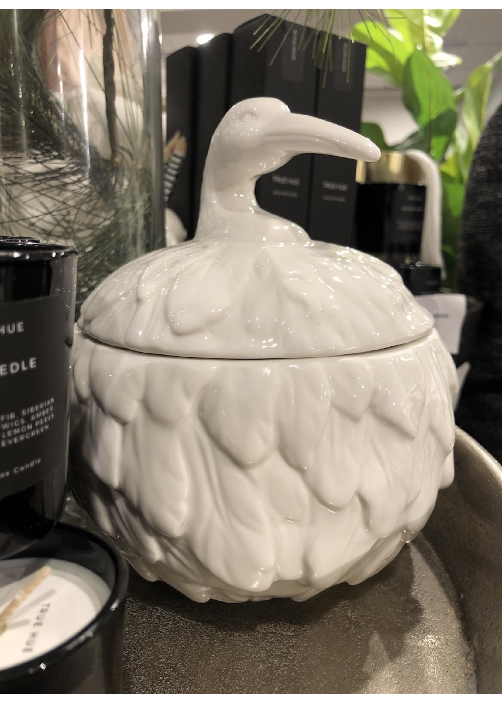 Imm Living Feathered Nest Heron Canister