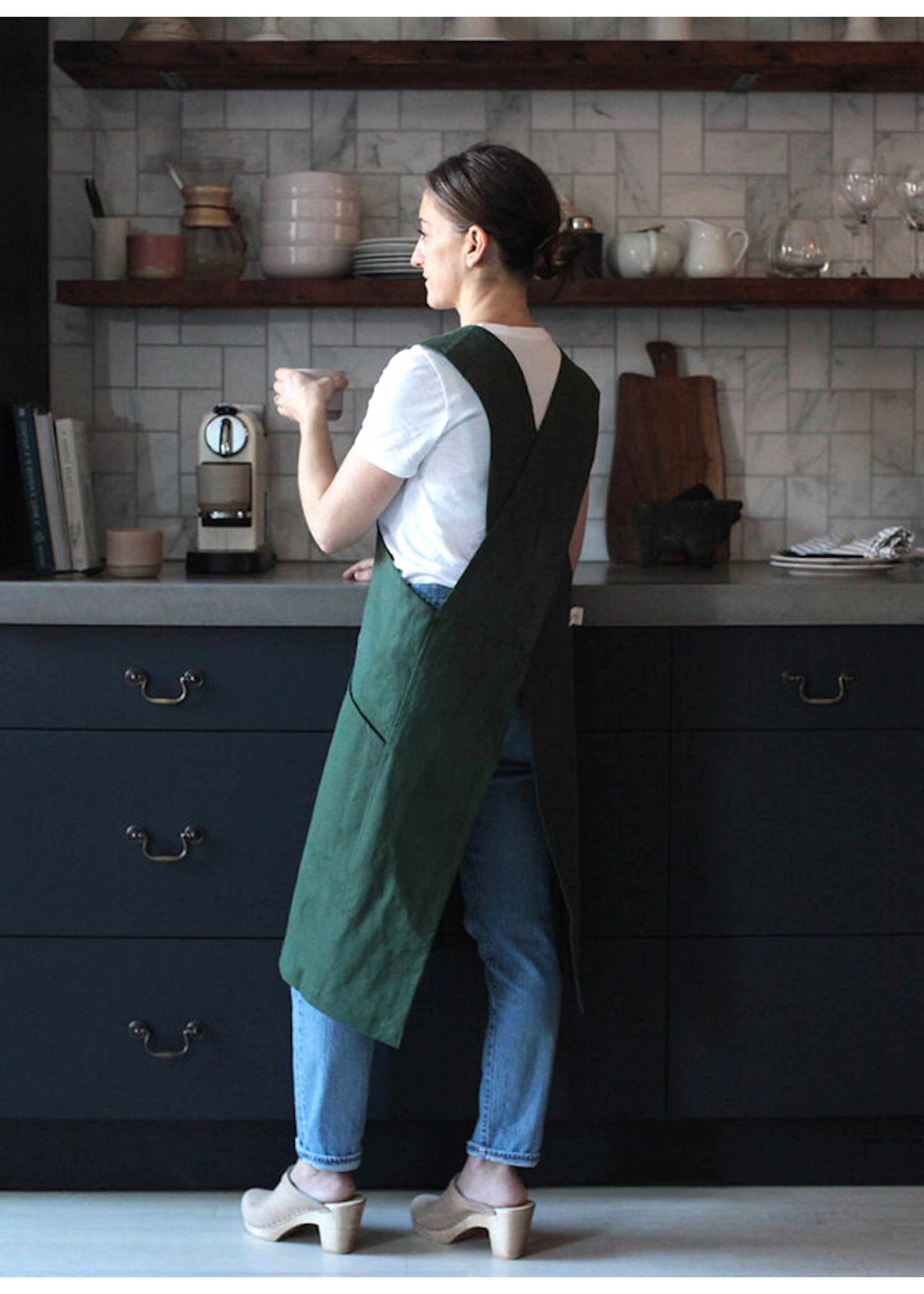 The Floral Society Canvas Workshop Apron
