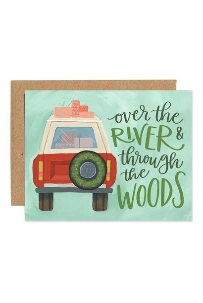 Holiday Jeep Boxed Cards