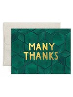 Many Thanks Boxed Cards