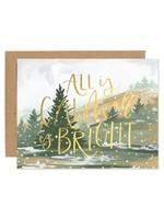 Calm & Bright Card