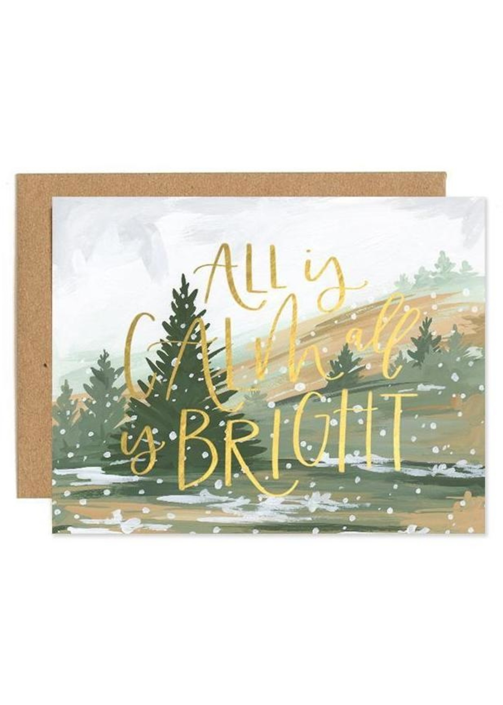Calm & Bright Card