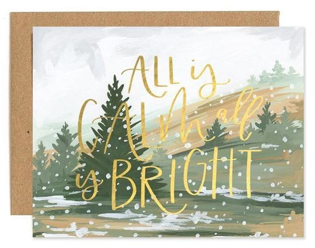 Calm & Bright Card-1
