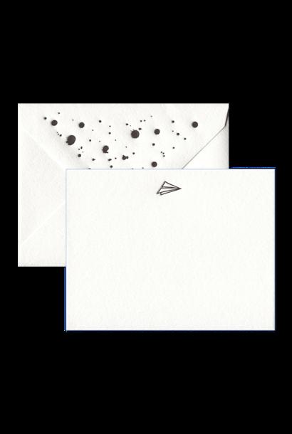 Paper Airplane Stationery Set