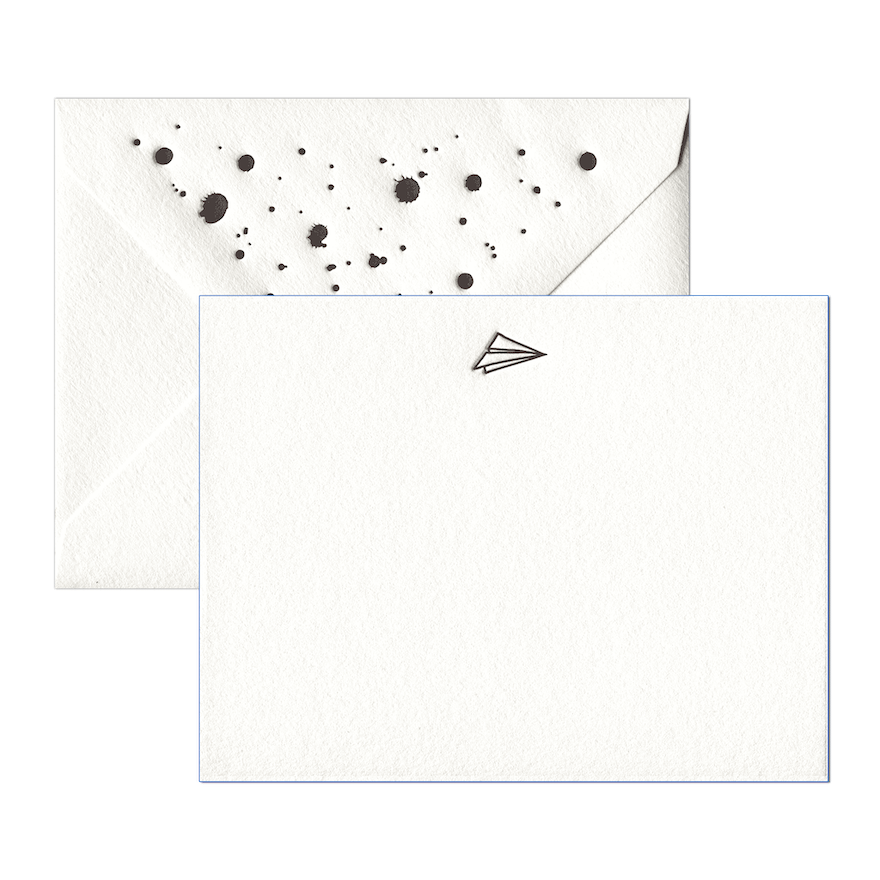 Paper Airplane Stationery Set-1