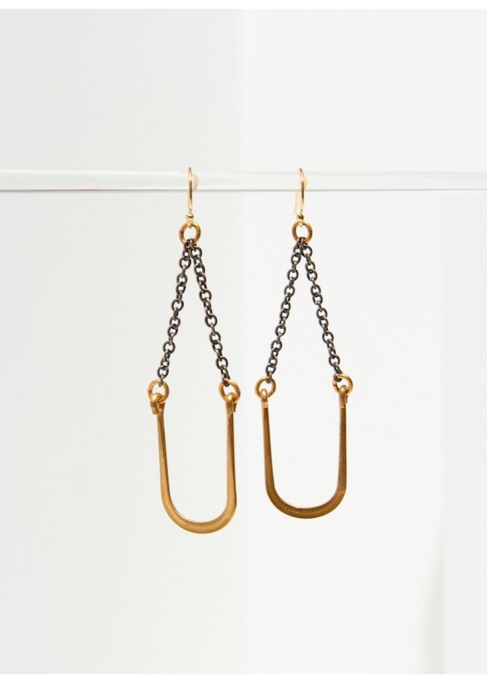 Larissa Loden Larissa Loden Vintage U Swing Earrings