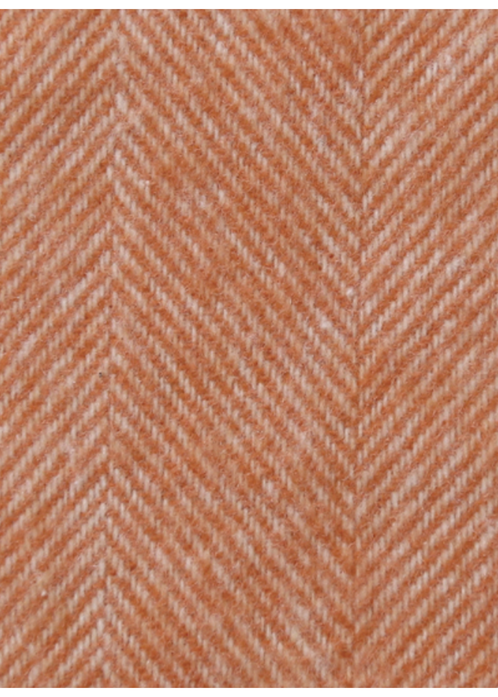 Lands Downunder Mandarin Herringbone Throw