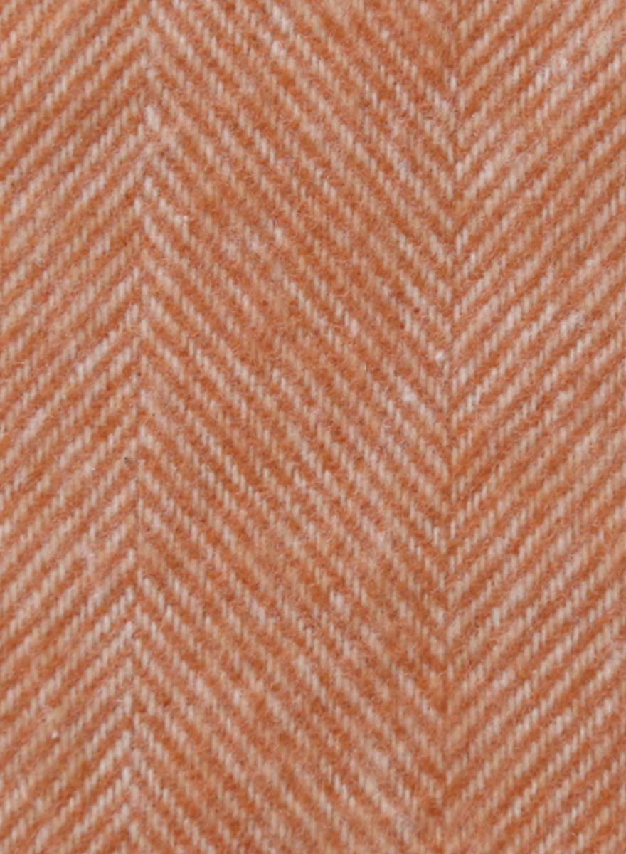 Mandarin Herringbone Throw-2