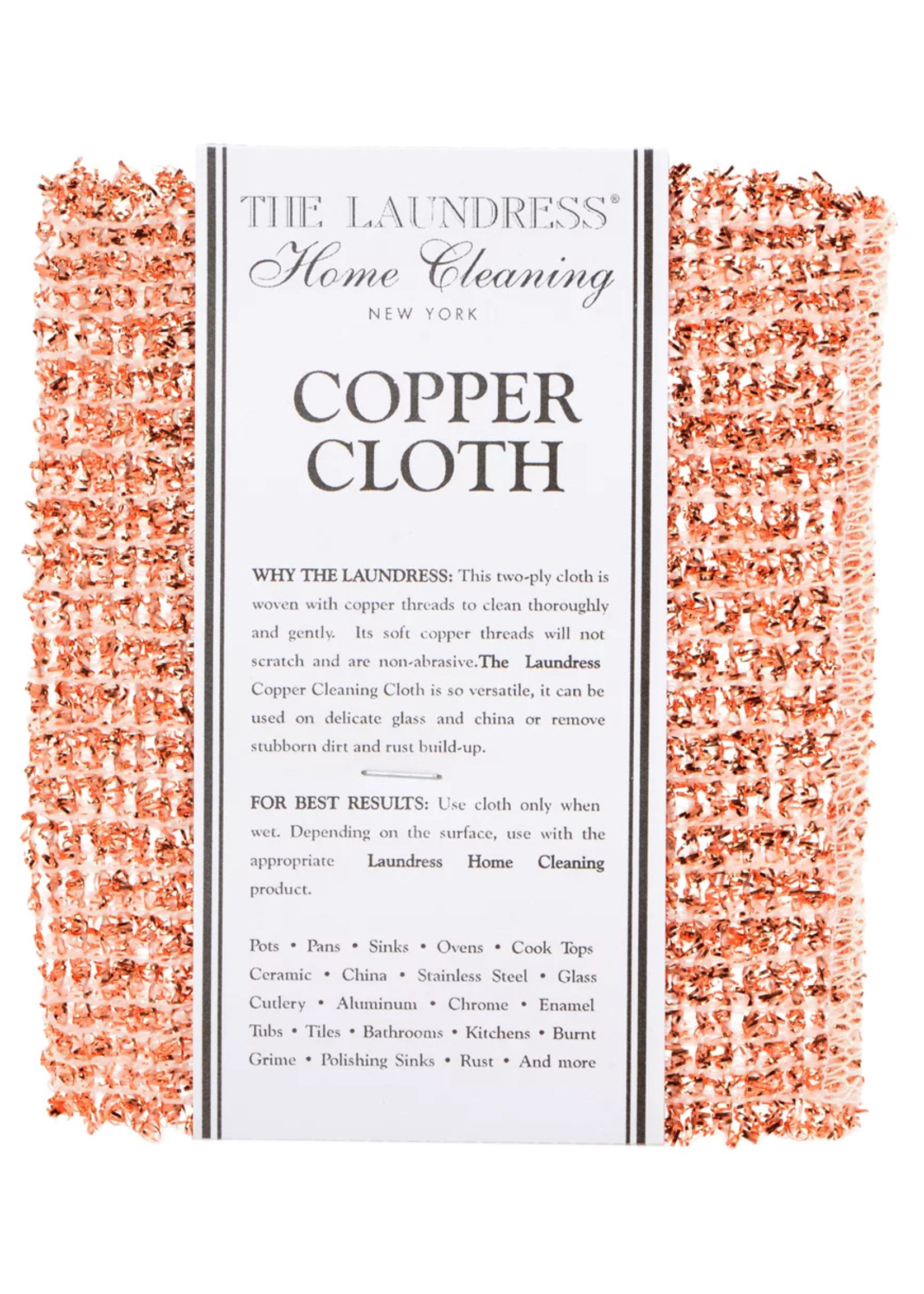 The Laundress New York Copper Cleaning Cloth