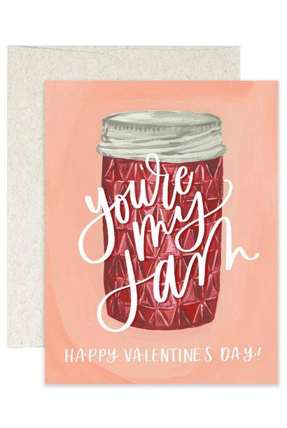 Jam Valentine's Card
