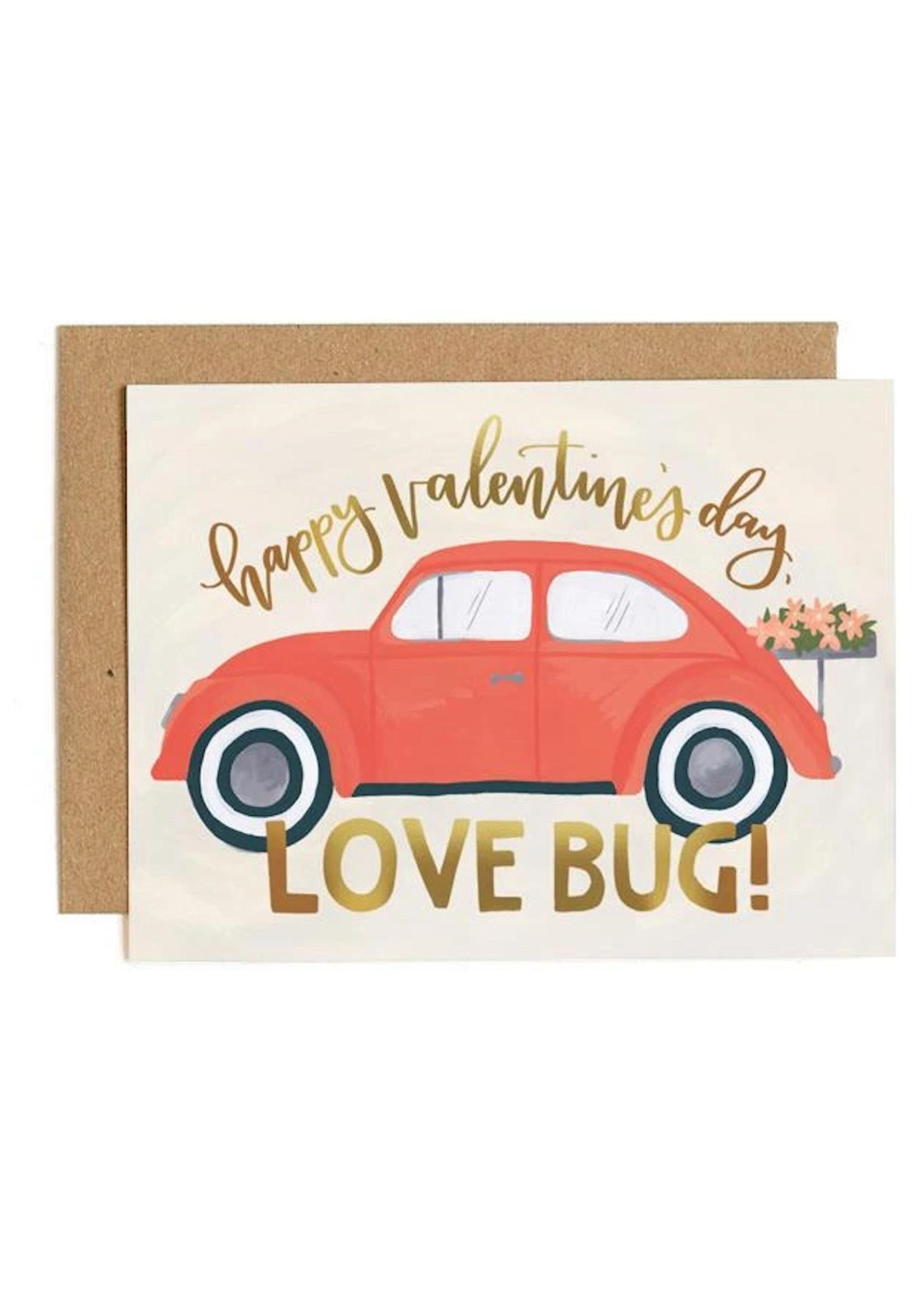 Love Bug Valentine's Card