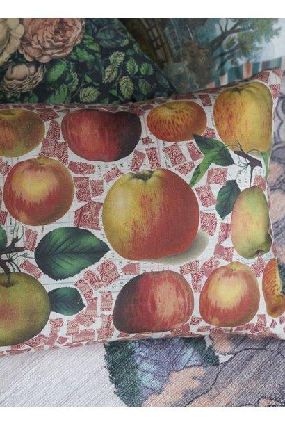 Apples Carmine Pillow