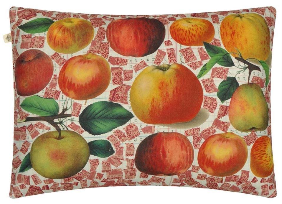 Apples Carmine Pillow-2