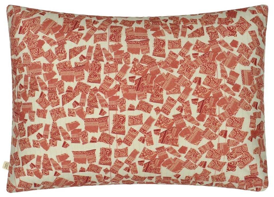Apples Carmine Pillow-3