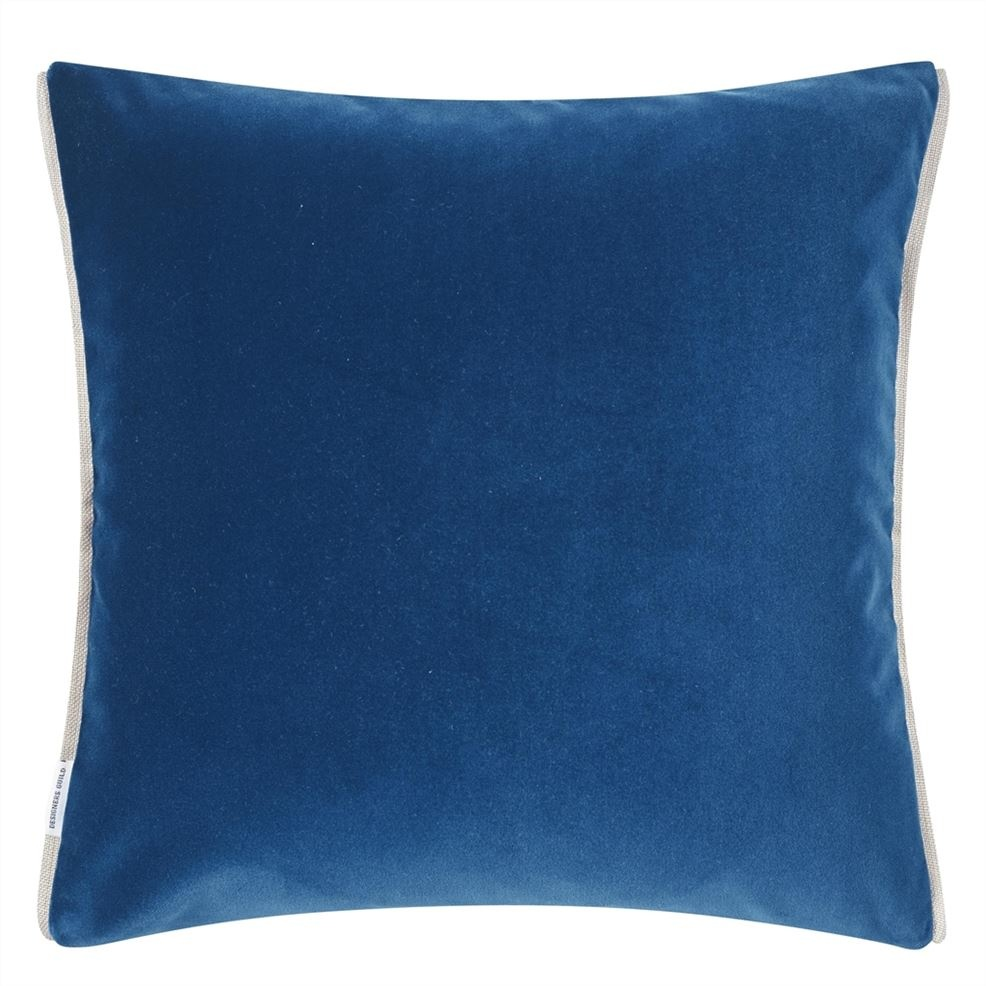 Varese Marine & Cerulean Pillow-3