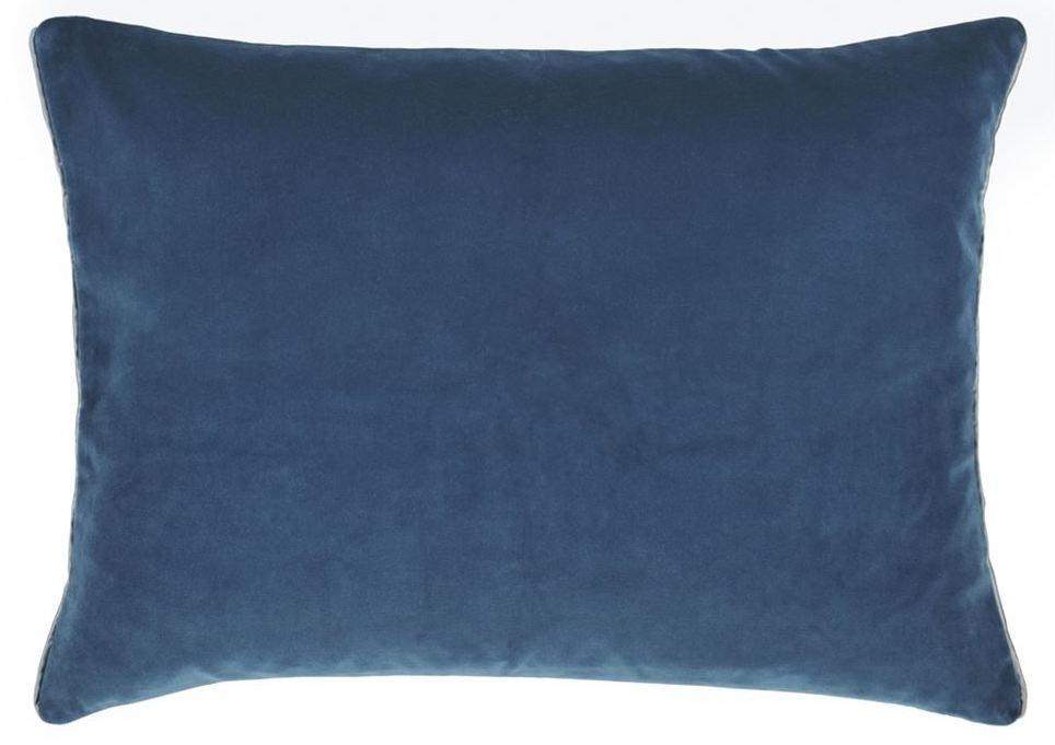 Cassia Prussian & Granite Pillow-2