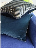 Designers Guild Cassia Prussian & Granite Pillow