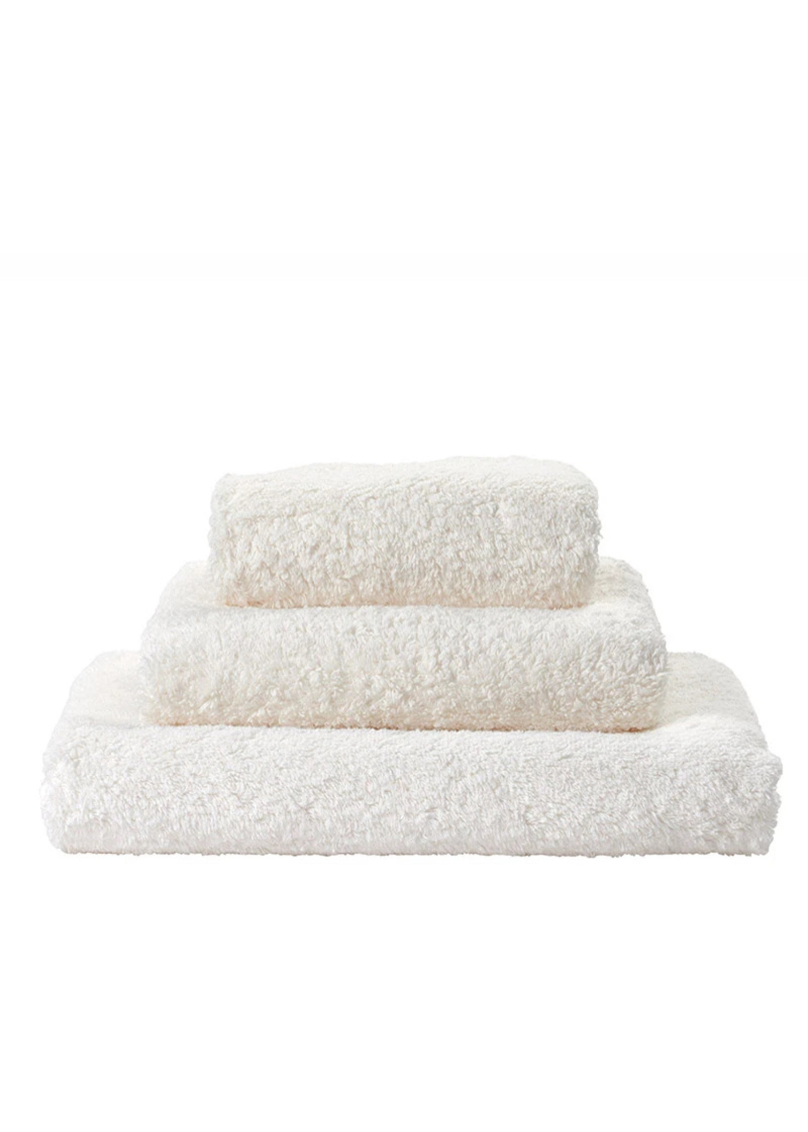 Abyss & Habidecor Super Pile Ivory Towels