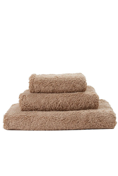 Super Pile Taupe Towels