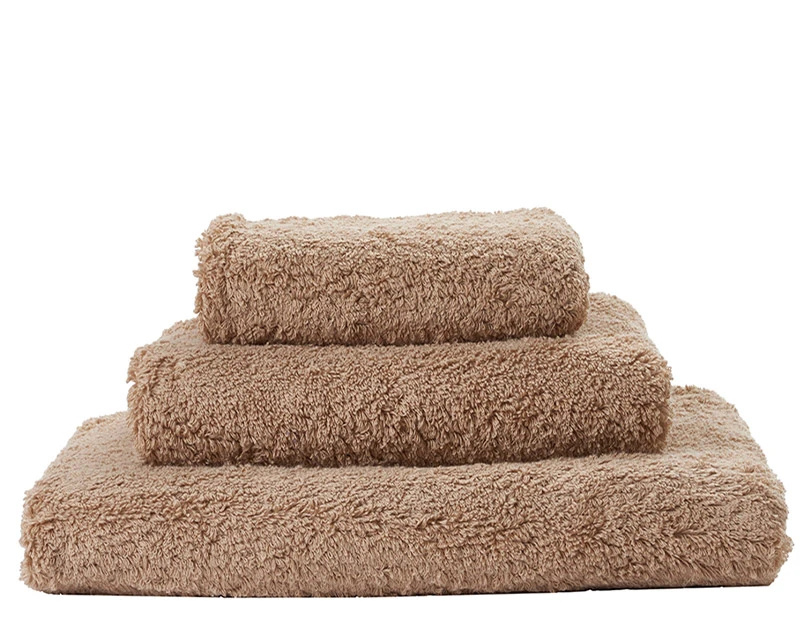 Super Pile Taupe Towels-1