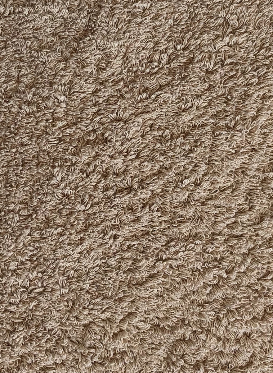 Super Pile Taupe Towels-2