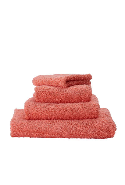 Super Pile Salmon Towels