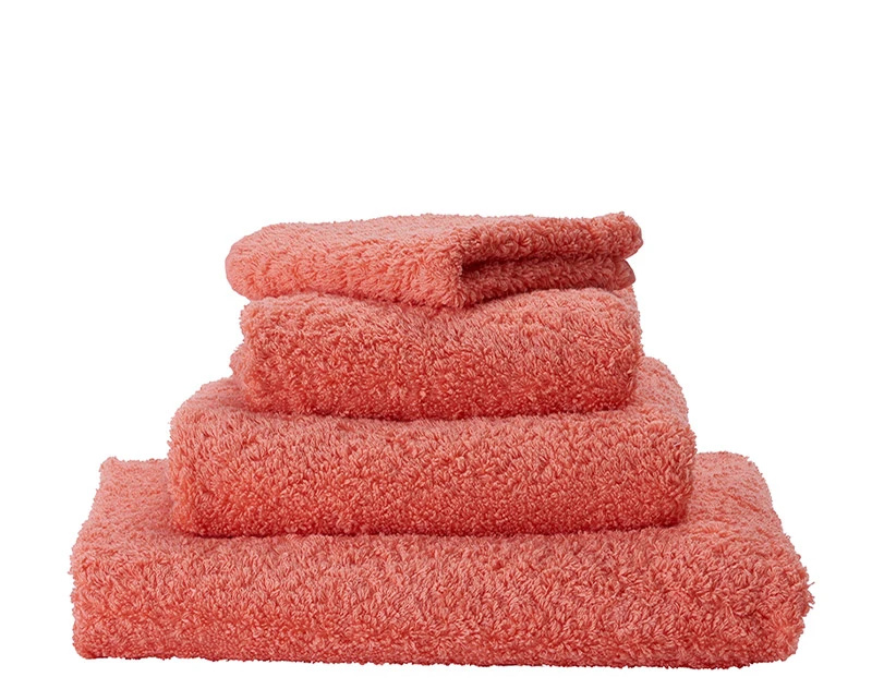 Super Pile Salmon Towels-1