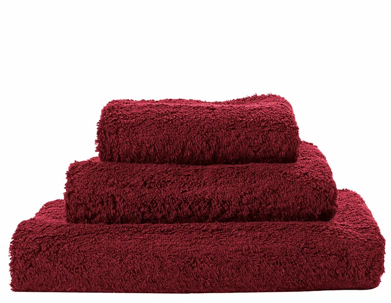Super Pile Rubis Towels-1