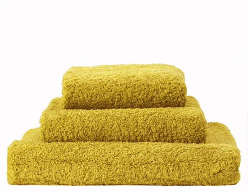 Super Pile Lemon Curry Towels-1